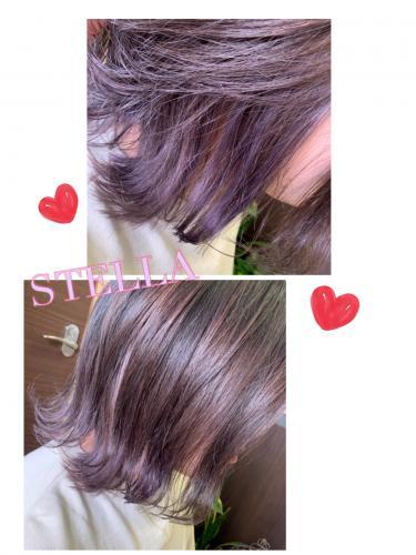 透け感カラー♡    パーソナルカラー でトーンアップ♡ 宇部市美容院